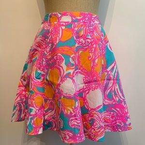 Lilly Pulitzer Circle Skirt